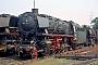 """Krupp 1896 - DB """"044 122-0"""" 12.08.1973 - Gelsenkirchen-Bismarck, BahnbetriebswerkWerner Peterlick"""