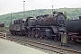 """Krupp 2173 - DDMM """"50 3604"""" 04.05.1993 - Aue (Sachsen), BahnbetriebswerkRalph Mildner (Archiv Stefan Kier)"""