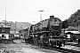 """Krupp 2242 - DB """"044 594-0"""" 15.06.1971 - Dillenburg, BahnbetriebswerkKarl-Hans Fischer"""
