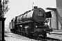 """Krupp 2705 - DB """"044 196-4"""" 05.06.1972 - Braunschweig, BahnbetriebswerkUlrich Budde"""