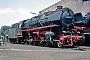 """Krupp 2705 - DB """"043 196-5"""" 26.06.1975 - Rheine, BahnbetriebswerkStefan Lauscher"""