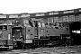 "Krupp 2856 - DB ""086 705-1"" 29.07.1968 - Hof, BahnbetriebswerkUlrich Budde"