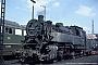 """Krupp 2879 - DB """"082 003-5"""" 25.04.1968 - Hamburg, Bahnbetriebswerk WilhelmsburgUlrich Budde"""