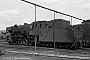 """Krupp 3186 - DB """"023 051-6"""" 26.05.1969 - Saarbrücken, Bahnbetriebswerk Rbf (alt)Ulrich Budde"""