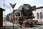 """Krupp 3442 - DB """"023 054-0"""" 05.07.1968 - Crailsheim, BahnbetriebswerkUlrich Budde"""