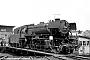 """Krupp 3444 - DB """"023 056-5"""" 07.07.1968 - Heilbronn, BahnbetriebswerkUlrich Budde"""