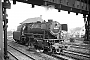 "Krupp 3446 - DB ""023 058-1"" 20.04.1971 - Crailsheim, BahnbetriebswerkKarl-Hans Fischer"