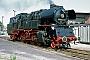 """LKM 121057 - DR """"65 1057-2"""" 05.07.1991 - Wustermark, BahnbetriebswerkGerd Bembnista (Archiv Stefan Kier)"""