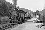 """LKM 132035 - DR """"99 1794-9"""" 10.09.1975 - Schmiedeberg, BahnhofGerhard Oberwemmer (Archiv Stefan Kier)"""