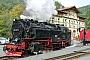 """LKM 134009 - HSB """"99 7232-4"""" 03.10.2009 - Eisfelder Talmühle, BahnhofKlaus Hentschel"""