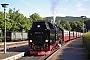 """LKM 134011 - HSB """"99 7234-0"""" 16.06.2010 - Wernigerode, Bahnhof WesterntorWerner Schwan"""