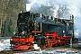 "LKM 134012 - DR ""99 7235-7"" 25.01.1992 - Alexisbad, BahnhofGerd Bembnista (Archiv Stefan Kier)"