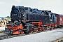 """LKM 134017 - DR """"99 7240-7"""" 09.09.1989 - Stiege, BahnhofGerd Bembnista (Archiv Stefan Kier)"""
