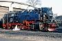 """LKM 134017 - HSB """"99 7240-7"""" 10.03.1996 - Wernigerode, Bahnbetriebswerk HSBArchiv Stefan Kier"""
