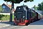"""LKM 134017 - HSB """"99 7240-7"""" 03.07.2014 - Wernigerode, Bahnhof WesterntorStefan Kier"""