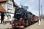 """LKM 134018 - DR """"99 7241-5"""" 30.04.1990 - Elend (Harz), BahnhofArchiv Stefan Kier"""
