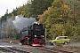 """LKM 134020 - HSB """"99 7243-1"""" 03.10.2019 - Harztor, Bahnhof Eisfelder TalmühleMartin Welzel"""