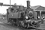 "Maffei 2291 - DME ""98 727"" 03.04.1976 - Stolberg (Rheinland), BahnbetriebswerkDietrich Bothe"
