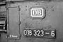 """Maffei 5109 - DB """"018 323-6"""" 05.10.1969 - Karlsruhe, HauptbahnhofHelmut H. Müller"""