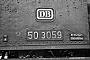 """MBA 14257 - DB  """"50 3059"""" __.12.1967 - Heilbronn, BahnbetriebswerkHelmut H. Müller"""