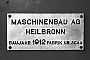 "MGH 595 - TWS ""3"" __.__.1969 - Tübingen, BahnbetriebswerkHelmut H. Müller"