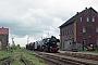 """MBA 13966 - EMBB """"52 8154-8"""" 14.05.1996 - Penig, Bahnhof Langenleuba-OberhainRalph Mildner (Archiv Stefan Kier)"""