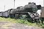 """Schichau 3356 - DR """"41 1150-6"""" 23.06.1992 - Staßfurt, TraditionsbahnbetriebswerkErnst Lauer"""