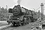 """Schichau 3410 - DR """"50 3516-7"""" 11.06.1983 - Glauchau (Sachsen), BahnbetriebswerkJörg Helbig"""
