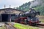 """Schichau 3415 - VSE """"50 3616-5"""" 01.09.1994 - Annaber-Buchholz, BahnbetriebswerkRalph Mildner (Archiv Stefan Kier)"""