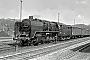 """Schichau 3427 - DR """"50 1002-0"""" 28.04.1983 - Nossen (Sachsen), BahnhofJörg Helbig"""