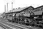 """Schichau 3443 - DR """"23 001"""" 22.04.1967 - Halle (Saale), Bahnbetriebswerk PKarl-Friedrich Seitz"""