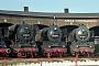 """Schichau 3483 - Dampflok Weyhe """"50 3562-1"""" 29.03.1999 - Staßfurt, TraditionsbahnbetriebswerkRalph Mildner (Archiv Stefan Kier)"""