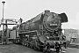 "Schichau 3605 - DR ""44 0413-3"" 26.09.1980 - Saalfeld (Saale), BahnbetriebswerkHelmut Philipp"