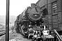 """Schichau 3626 - DB  """"044 674-4"""" 23.06.1971 - Trier-Ehrang, Bahnbetriebswerk EhrangKarl-Hans Fischer"""