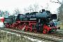 """Schichau 3937 - Dampf-Plus """"52 8079-7"""" 03.12.2005 - Flöha, BahnhofKlaus Hentschel"""