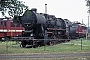 "Schichau 4110 - DR ""52 8186-0"" 09.08.1990 - Engelsdorf (bei Leipzig), BahnbetriebswerkIngmar Weidig"