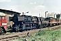 """Schichau 4225 - DR """"52 8001-1"""" 25.05.1987 - Angermünde, BahnbetriebswerkMichael Uhren"""