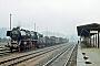 """Skoda 1185 - DR """"50 3576-1"""" 22.04.1989 - Nossen, BahnhofDirk Lenhard (Archiv Stefan Kier)"""