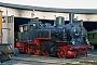 """Union 1602 - DR """"74 231"""" 13.11.1993 - Arnstadt, historisches BahnbetriebswerkRalph Mildner (Archiv Stefan Kier)"""