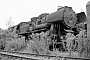 """WLF 16232 - DR """"52 8051-6"""" 17.09.1991 - Aue, BahnbetriebswerkErnst Lauer"""