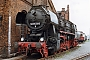 "WLF 17082 - Privat ""52 8173-8"" 28.03.1999 - Staßfurt, Traditionsbahnbetriebswerk