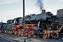 "WLF 9121 - DB  ""050 763-2"" 04.08.1975 - Lehrte, BahnbetriebswerkBernd Spille"