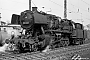 """WLF 9176 - DB """"051 242-6"""" 12.03.1968 - Wuppertal-Vohwinkel, BahnbetriebswerkUlrich Budde"""