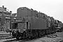 """WLF 9208 - DR """"50 0012-0"""" 26.04.1975 - Stendal, ReichsbahnausbesserungswerkThomas Grubitz (Archiv Stefan Kier)"""